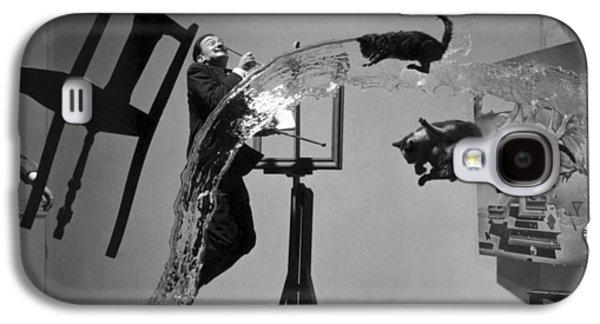Contemporary Art Photographs Galaxy S4 Cases - Salvador Dali 1904-1989 Galaxy S4 Case by Granger