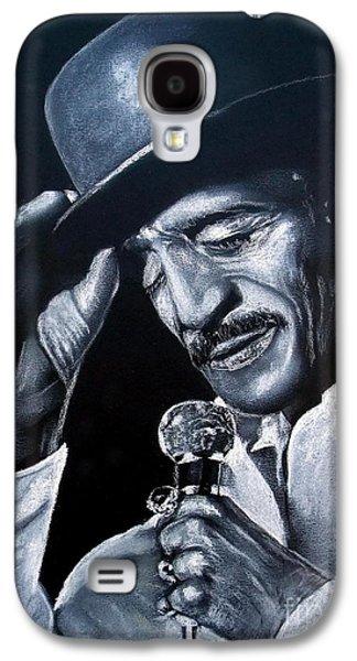 African-american Galaxy S4 Cases - Sammy Davis Jr Galaxy S4 Case by Jim Fitzpatrick