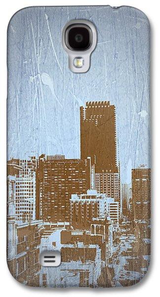 European City Digital Art Galaxy S4 Cases - San Francisco 2 Galaxy S4 Case by Naxart Studio