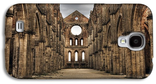 Ruin Galaxy S4 Cases - San Galgano  - a ruin of an old monastery with no roof Galaxy S4 Case by Joana Kruse