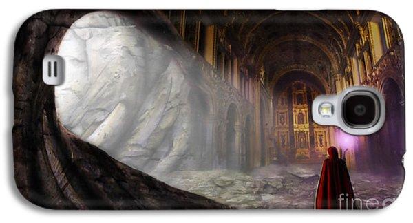 Painter Digital Art Galaxy S4 Cases - Sanctum Galaxy S4 Case by John Edwards