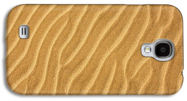 Sand Patterns Galaxy S4 Cases - Sand ripples abstract Galaxy S4 Case by Elena Elisseeva
