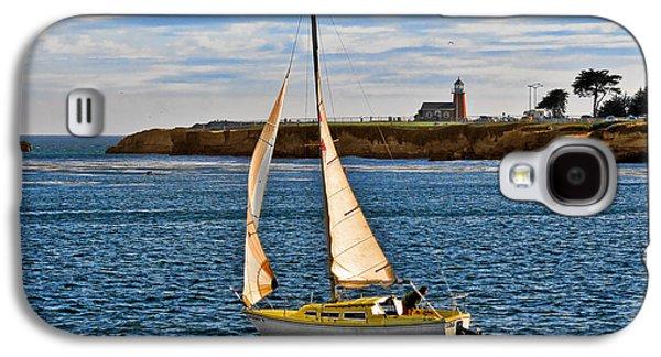 Coast Highway One Galaxy S4 Cases - Santa Cruz Mark Abbott Memorial Lighthouse CA  Galaxy S4 Case by Christine Till