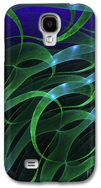 Digital Art Greeting Cards Galaxy S4 Cases - Sargasso Sea Galaxy S4 Case by Sandra Bauser Digital Art