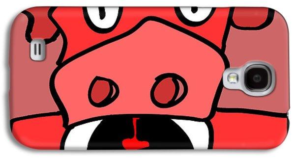 Puppy Digital Art Galaxy S4 Cases - Sax the Puppydragon Galaxy S4 Case by Jera Sky