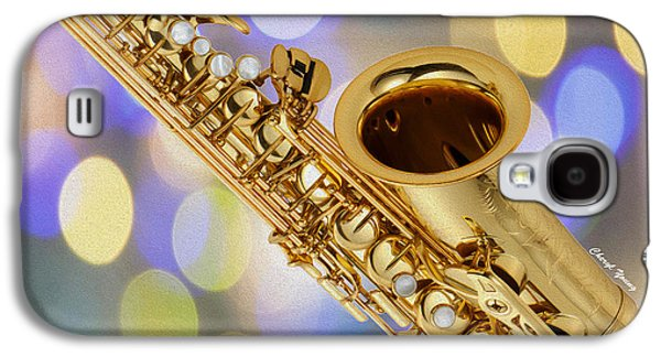 Saxophone Photographs Galaxy S4 Cases - Saxophone Galaxy S4 Case by Cheryl Young
