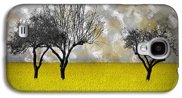 Modern Abstract Digital Art Digital Art Digital Art Galaxy S4 Cases - Scenery-Art Landscape Galaxy S4 Case by Melanie Viola