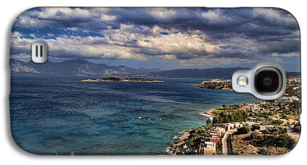 Interface Galaxy S4 Cases - Scenic view of eastern Crete Galaxy S4 Case by David Smith