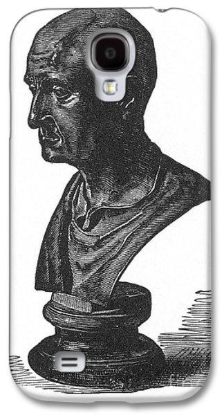 Statue Portrait Galaxy S4 Cases - Scipio Africanus Galaxy S4 Case by Granger