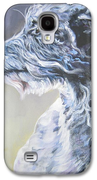 Scottish Dog Galaxy S4 Cases - Scottish Deerhound Galaxy S4 Case by Lee Ann Shepard