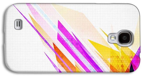 Glass Reflecting Galaxy S4 Cases - Seamless honeycomb pattern Galaxy S4 Case by Setsiri Silapasuwanchai