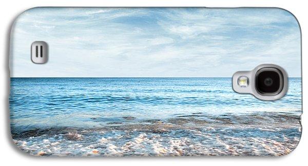 Solitude Photographs Galaxy S4 Cases - Seashore Galaxy S4 Case by Carlos Caetano