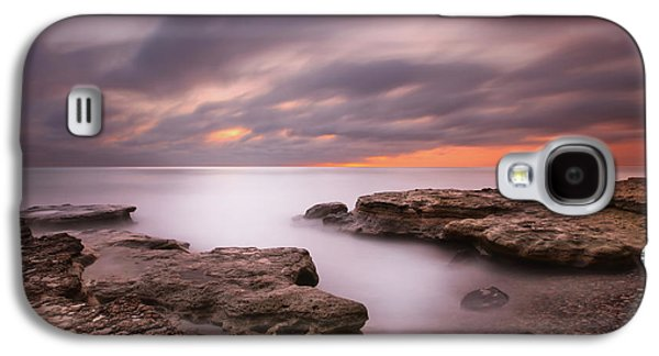 Sun Galaxy S4 Cases - Seaside Reef Sunset 5 Galaxy S4 Case by Larry Marshall