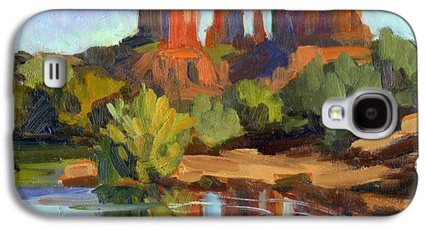 Cathedral Rock Galaxy S4 Cases - Sedona Cathedral Rock Galaxy S4 Case by Diane McClary