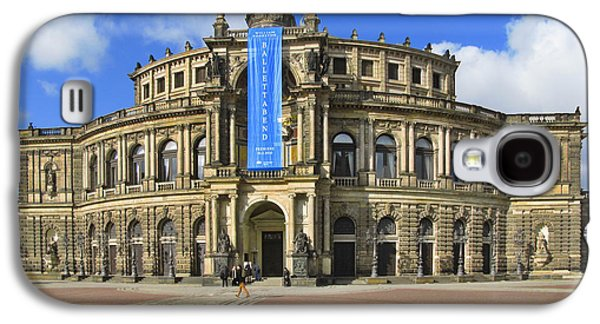 Concerts Galaxy S4 Cases - Semper Opera House - Semperoper Dresden Galaxy S4 Case by Christine Till