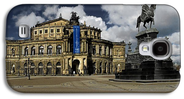 Concerts Galaxy S4 Cases - Semper Opera house Dresden - A beautiful sight Galaxy S4 Case by Christine Till