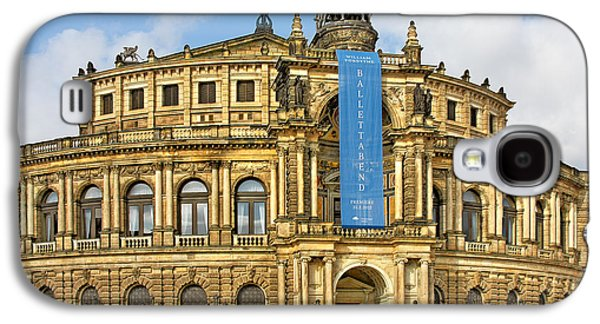 Concerts Galaxy S4 Cases - Semper Opera House Dresden Galaxy S4 Case by Christine Till