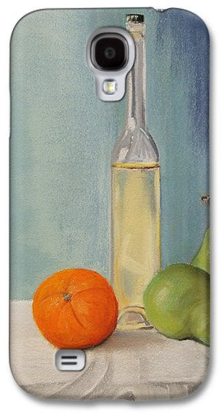 Still Life Pastels Galaxy S4 Cases - Serenity Galaxy S4 Case by Marie-Claire Dole