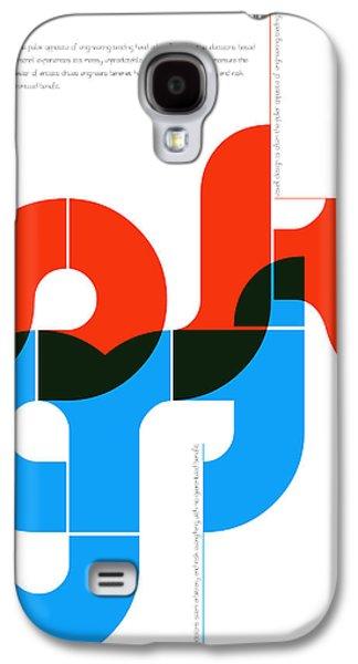 Sergey Rachmaninov Quote Poster Galaxy S4 Case by Naxart Studio
