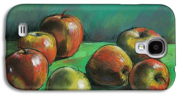 Food And Beverage Pastels Galaxy S4 Cases - Seven Apples Galaxy S4 Case by Mona Edulesco