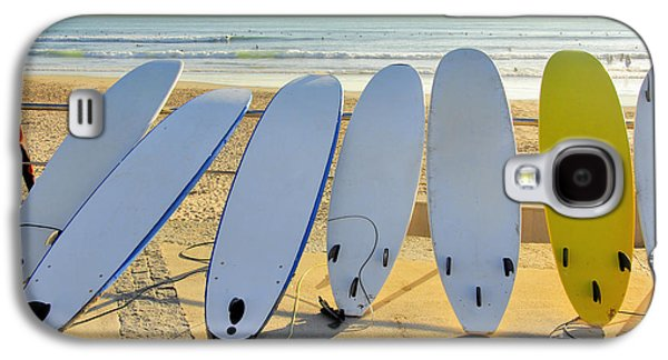 Activity Photographs Galaxy S4 Cases - Seven Surfboards Galaxy S4 Case by Carlos Caetano