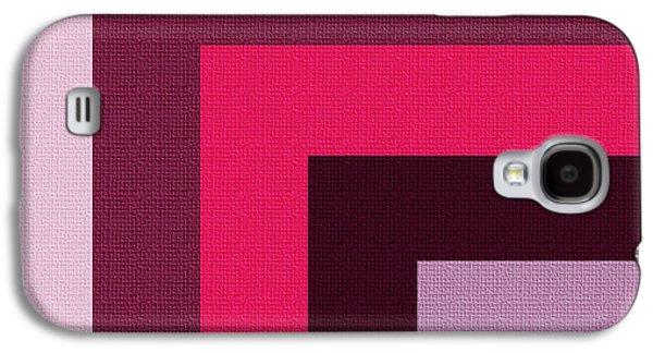 Modern Abstract Digital Art Digital Art Digital Art Galaxy S4 Cases - Shades of Joy Galaxy S4 Case by Bonnie Bruno