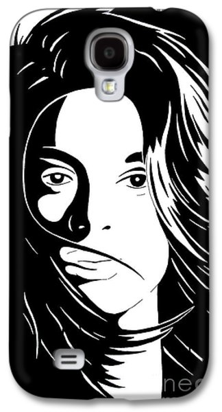 Basic Drawings Galaxy S4 Cases - She Is Galaxy S4 Case by Jack Norton