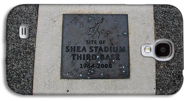 3rd Base Galaxy S4 Cases - Shea Stadium Third Base Galaxy S4 Case by Rob Hans