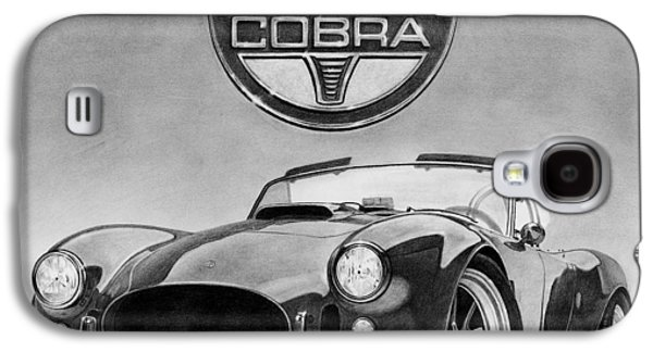 Graphite Galaxy S4 Cases - Shelby Cobra Galaxy S4 Case by Tim Dangaran