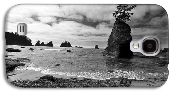 Beaches Galaxy S4 Cases - Shi Shi Beach Galaxy S4 Case by Ian Stotesbury