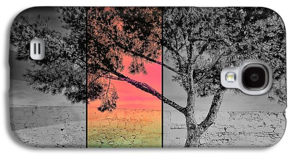 Alone Digital Art Galaxy S4 Cases - Show me the Light Galaxy S4 Case by Marianna Mills