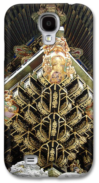 Pathways Galaxy S4 Cases - Shrine Roof Detail Galaxy S4 Case by Naxart Studio