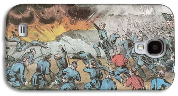 4th July Galaxy S4 Cases - Siege And Capture Of Vicksburg, 1863 Galaxy S4 Case by Photo Researchers