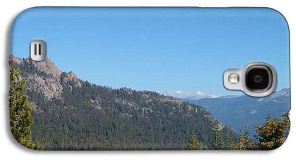 Sierra Nevada Mountains 3 Galaxy S4 Case by Naxart Studio