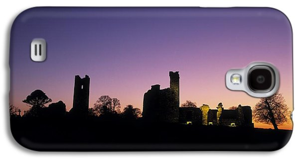 Monasticism Galaxy S4 Cases - Silhouette Of St. Patricks Church And A Galaxy S4 Case by The Irish Image Collection