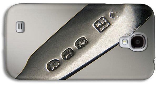 Silver Hallmarks, 1814 Galaxy S4 Case by Sheila Terry