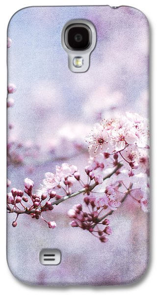 Pink Blossoms Galaxy S4 Cases - Sing To Me Galaxy S4 Case by Rebecca Cozart