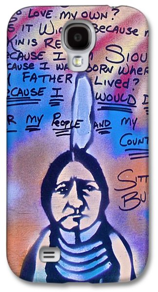 Sitting Bull...country Galaxy S4 Case by Tony B Conscious