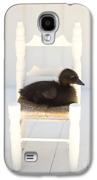 Chair Galaxy S4 Cases - Sitting Duck Galaxy S4 Case by Amy Tyler