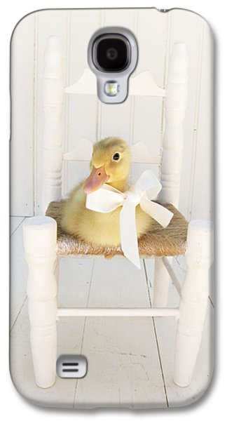 Chair Galaxy S4 Cases - Sitting Pretty Galaxy S4 Case by Amy Tyler