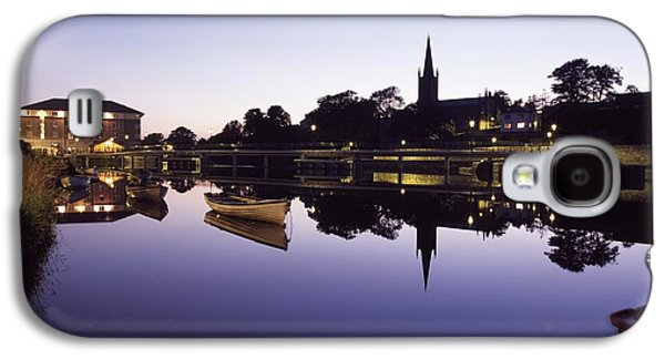 Reflections Of Sun In Water Galaxy S4 Cases - Skyline Over The R Garavogue, Sligo Galaxy S4 Case by The Irish Image Collection