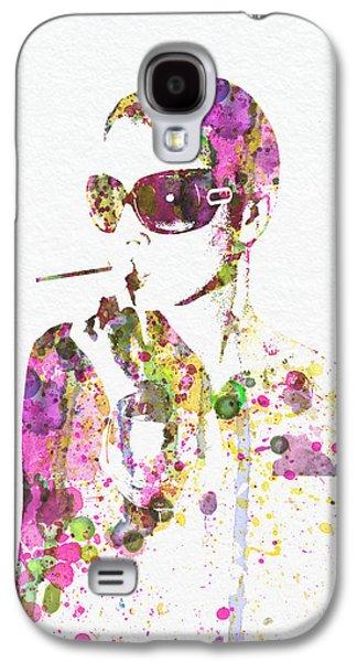 Photo Digital Art Galaxy S4 Cases - Smoking in the Sun Galaxy S4 Case by Naxart Studio