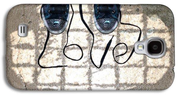 Sneaker Galaxy S4 Cases - Sneaker Love 1 Galaxy S4 Case by Paul Ward