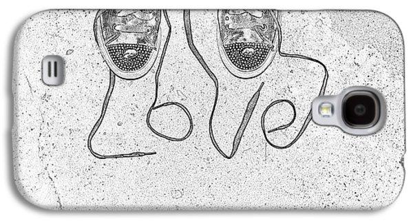 Sneaker Galaxy S4 Cases - Sneaker Love 2 Galaxy S4 Case by Paul Ward