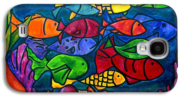 Aquarium Fish Galaxy S4 Cases - Snorkeling Off Norman Island Galaxy S4 Case by Patti Schermerhorn