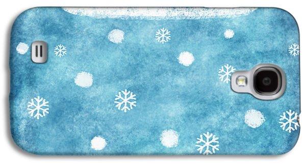 Temperature Galaxy S4 Cases - Snow Winter Galaxy S4 Case by Setsiri Silapasuwanchai