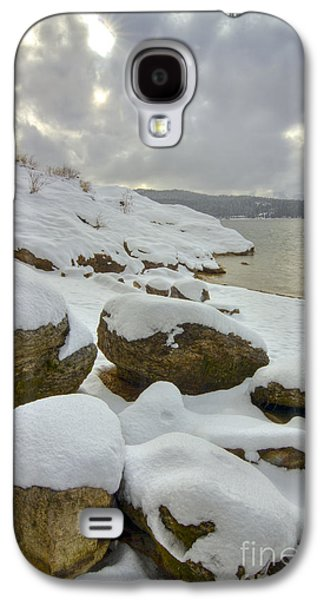 Snow Galaxy S4 Cases - Snowcapped Galaxy S4 Case by Idaho Scenic Images Linda Lantzy