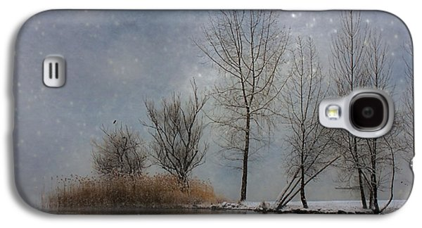 Winter Trees Photographs Galaxy S4 Cases - Snowfall Galaxy S4 Case by Joana Kruse