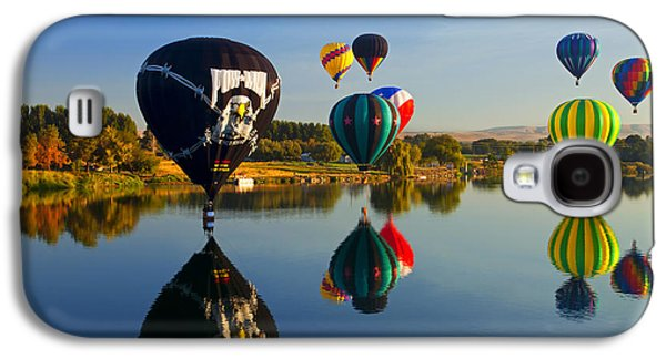 Hot Air Balloon Galaxy S4 Cases - Soft Landings Galaxy S4 Case by Mike  Dawson