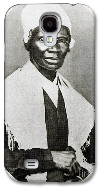 Slavery Galaxy S4 Cases - Sojourner Truth, African-american Galaxy S4 Case by Photo Researchers